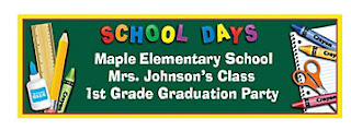 Personalized School Days Banner