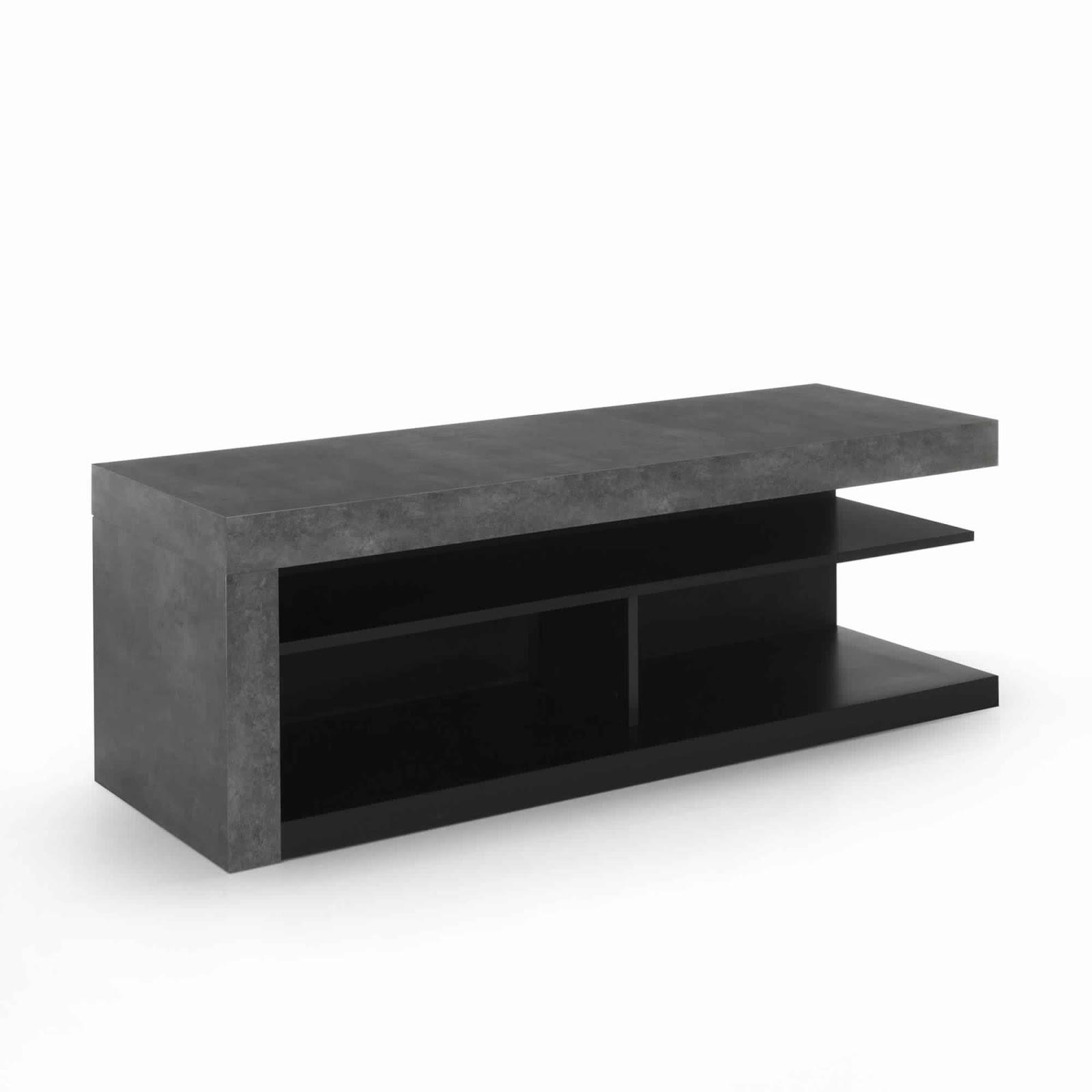 meuble tv stockholm alinea meuble tv. Black Bedroom Furniture Sets. Home Design Ideas