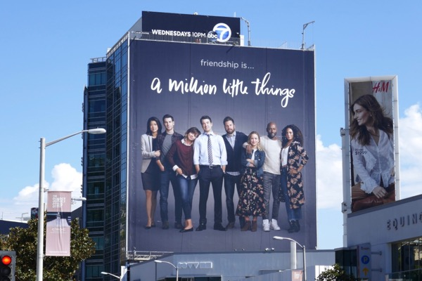 A Million Little Things series billboard