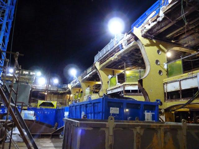 P1180160 - Primeiras imagens do Costa Concordia depois de ser resgatado em 2014