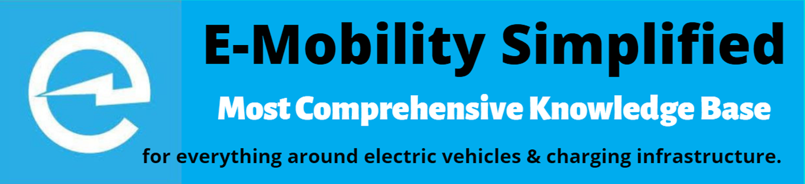 E-Mobility Simplified | Basics of Electric Vehicles and Charging