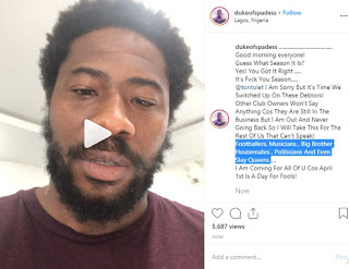 Night Club Owner Goes Broke Running Into Debts from BB Naija Stars, Celebrities and Politicians