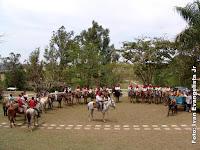 Cavalgada de Nossa Senhora Aparecida no Gama Distrito Federal
