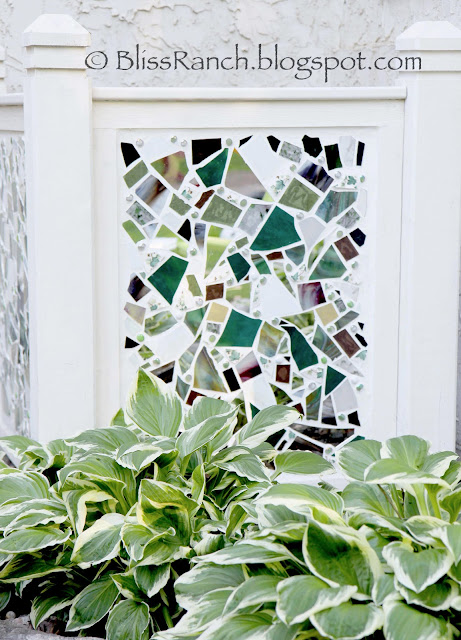 Mosaic Air Conditioner Screen Cover Bliss-Ranch.com