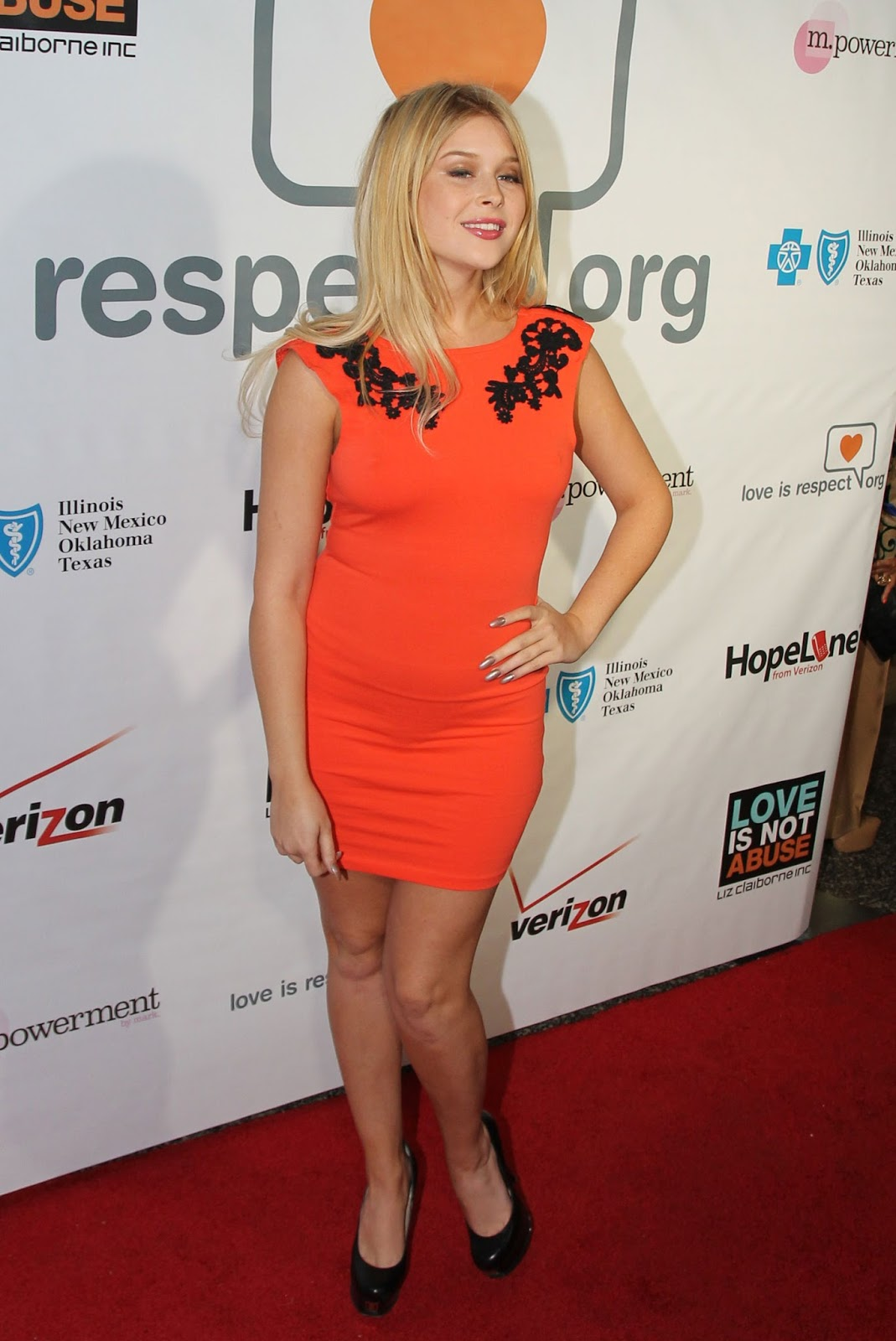 HD Photos of Renee Olstead At Loveisrespects Louder Than Words Launch Party In Hollywood
