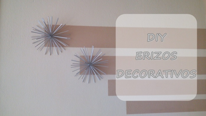 DIY: ERIZOS DECORATIVOS
