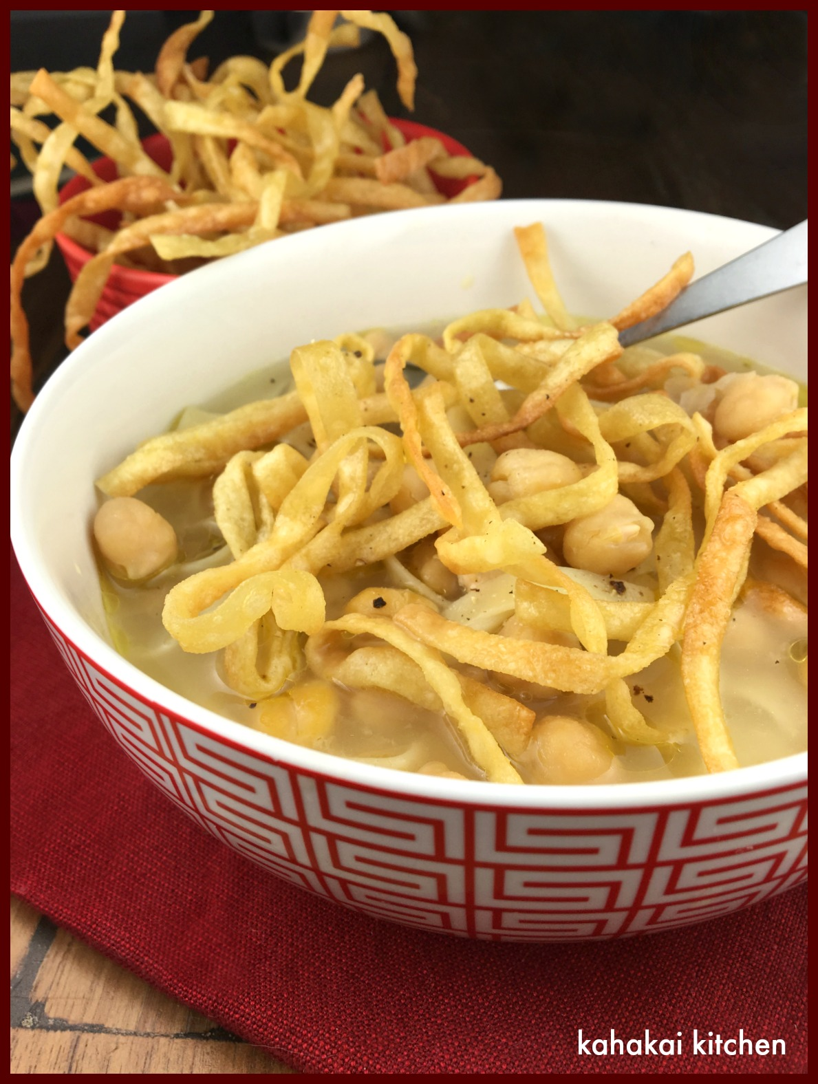 Kitchen: Ultimate Chickpea Noodle Soup for a Holiday Souper (Soup ...