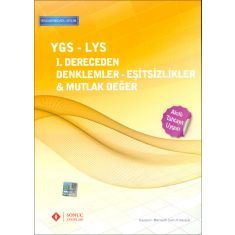 Sonuç Yayınları YGS 1.Dereceden Denklemler - Eşitsizlikler - Mutlak Değer