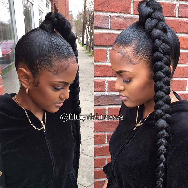 These will usually get overlooked especially once it comes to hairstyles for special occa 31 Bubble Ponytail Hairstyles With Weave To Wear This Year