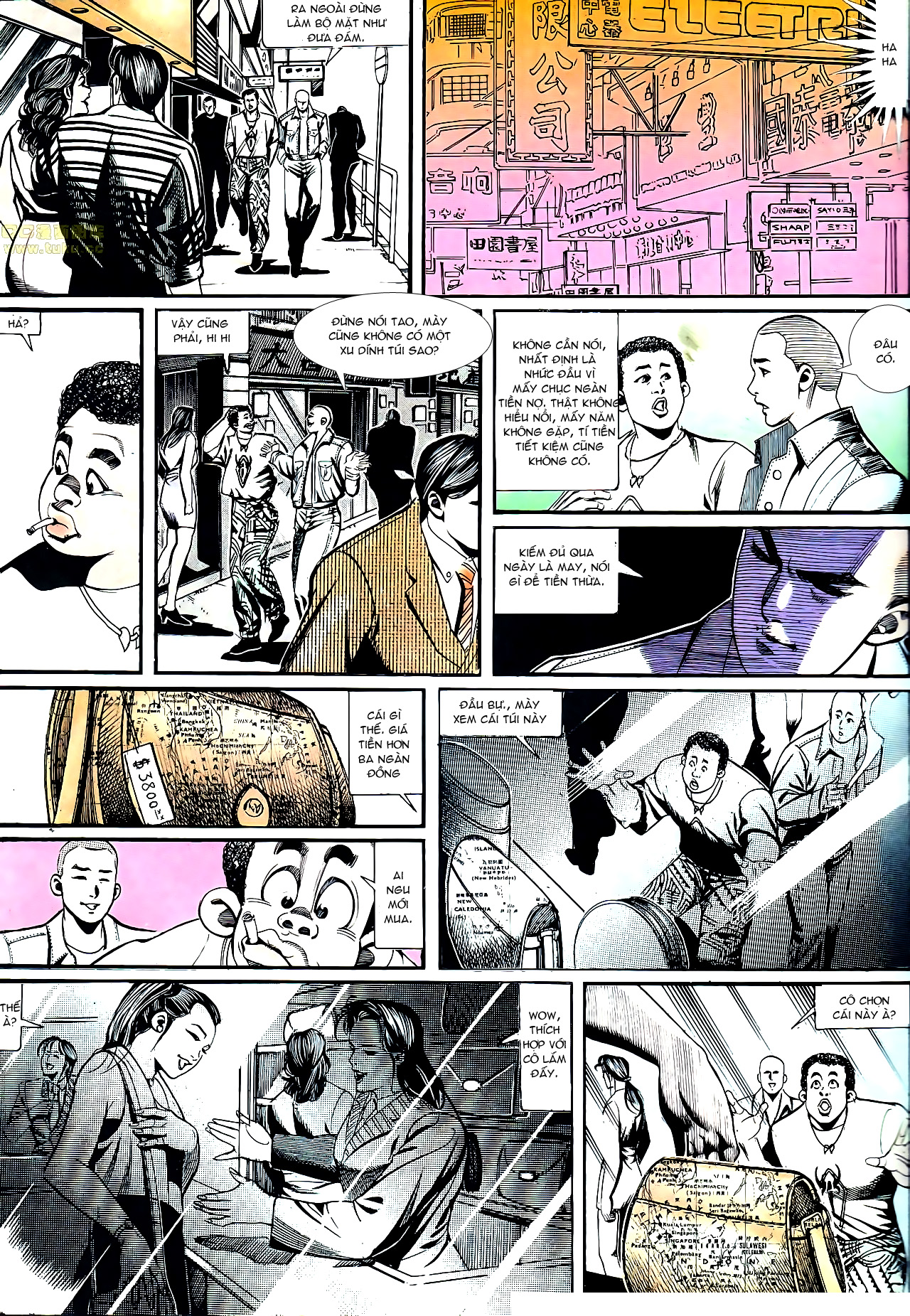 Người Trong Giang Hồ chapter 152: trăng sáng chiêm đông trang 3