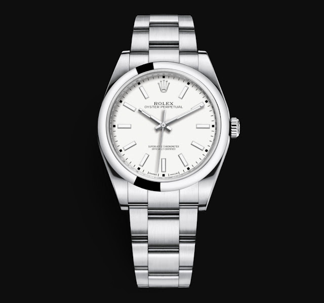 Rolex Oyster Perpetual 39 White Dial Ref. 114300