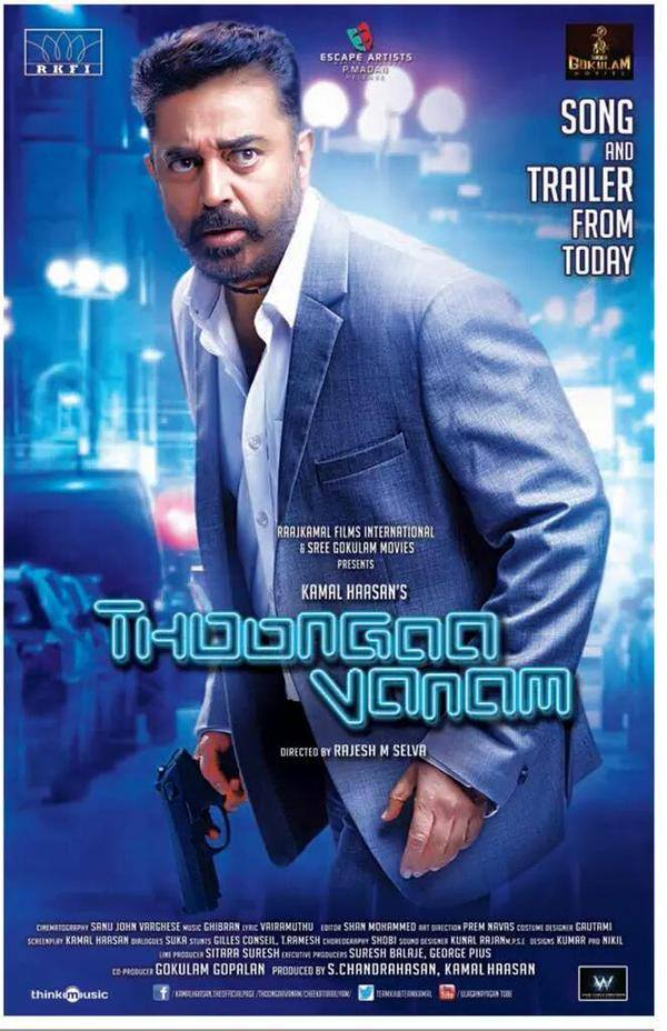 KHAKEE_ The Real Police (Thoongavanam) 2018 Hindi Dubbed 450MB HDRip 720p HEVC x265