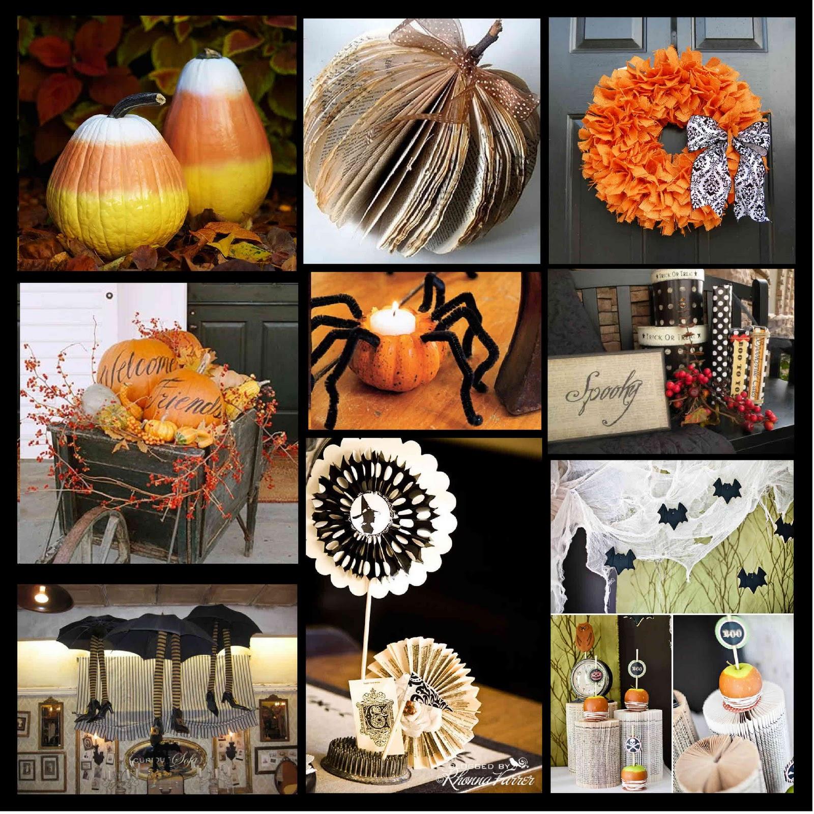 Halloween Centerpiece Ideas: Just Sweet And Simple: Halloween Ideas