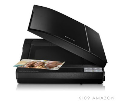 Epson Perfection V370 Scanner for watercolor