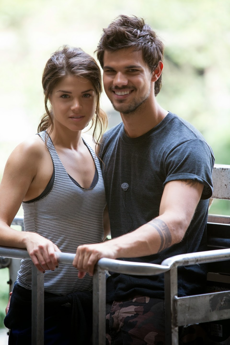 REEL DEAL: Taylor Lautner Faces Heart Stopping Challenges In