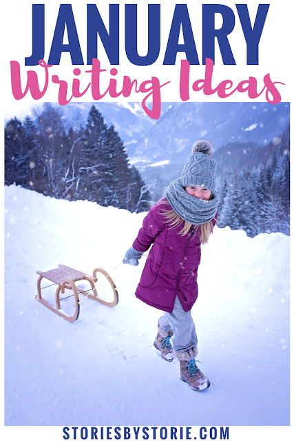 January is just around the corner. It's always the start of a new year, but it's also a time when students fall into a slump during writing time. Here are some ideas to add a little spark to your writing.