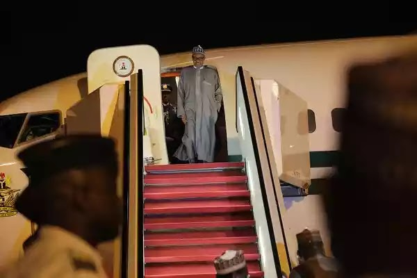 President Buhari returning to Nigeria
