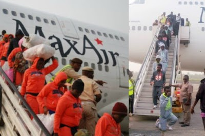 Another 149 Nigerians return from Libya