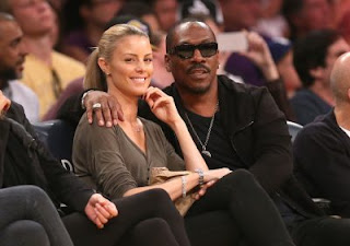 Eddie Murphy and his girlfriend Paige Butcher