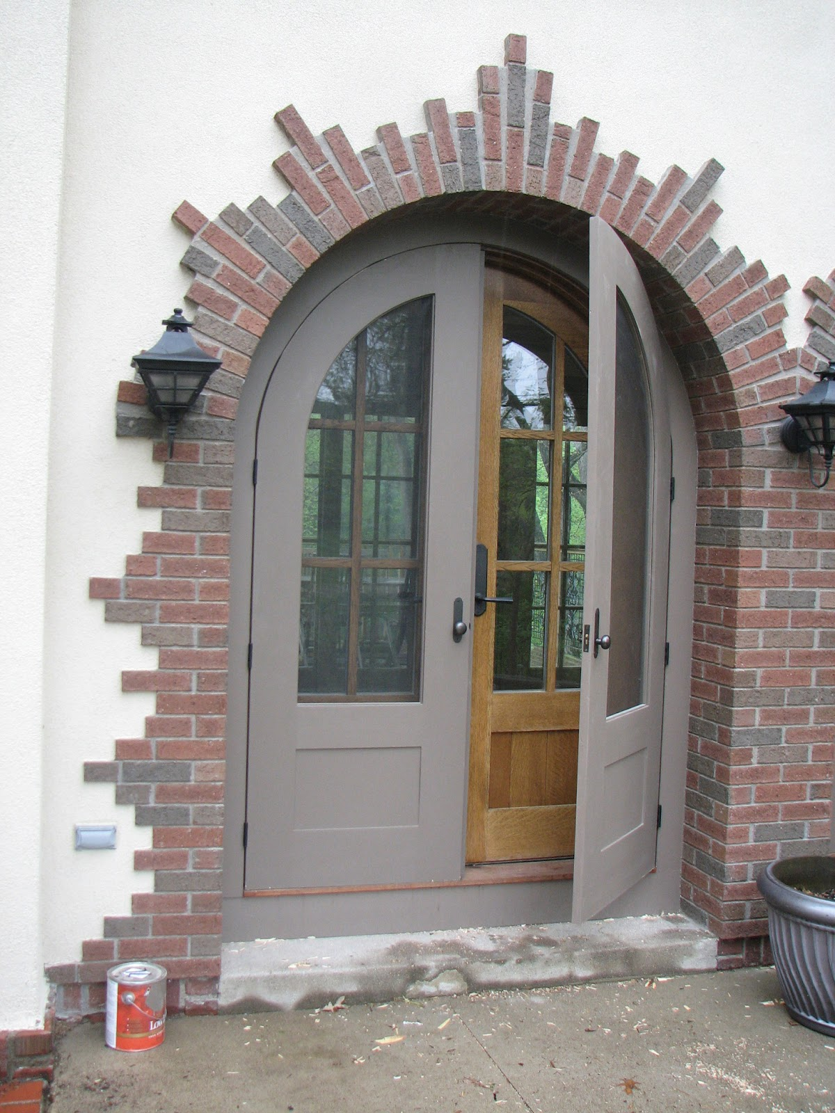 Custom Made Arched Screen Doors Huisman Concepts