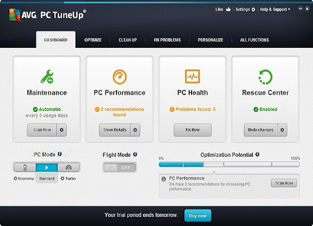 AVG PC TuneUp 2016 Computer Software