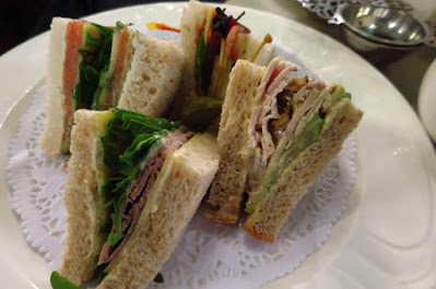Melbourne, Hopetoun Tea Rooms, sandwiches
