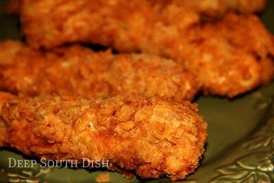 Deep South Dish Crunchy Saltine Chicken Tenders
