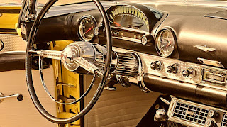 1955 Ford Thunderbird Convertible Steering Wheel