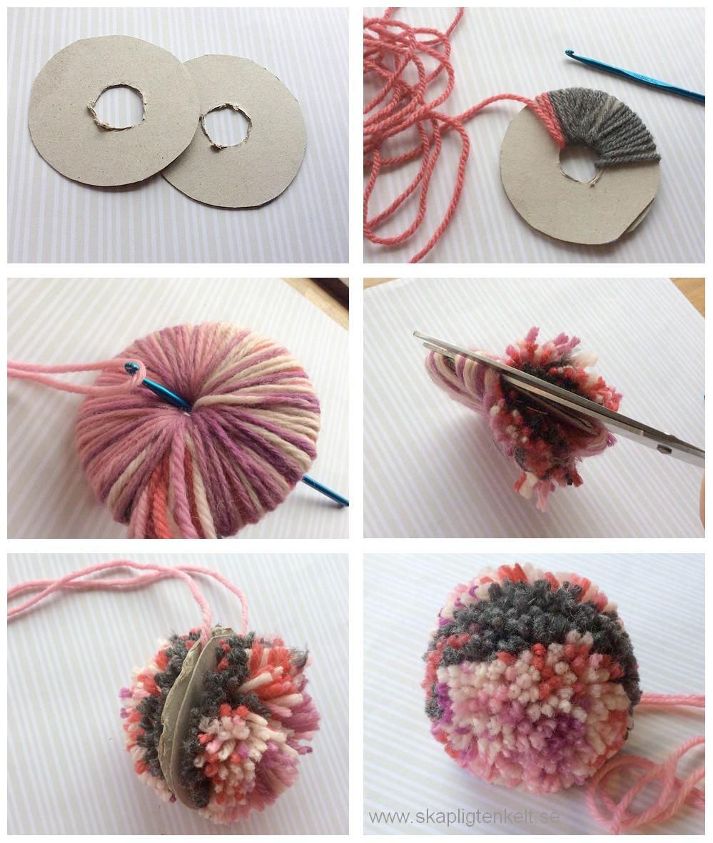 skapligt enkelt: garnbollar