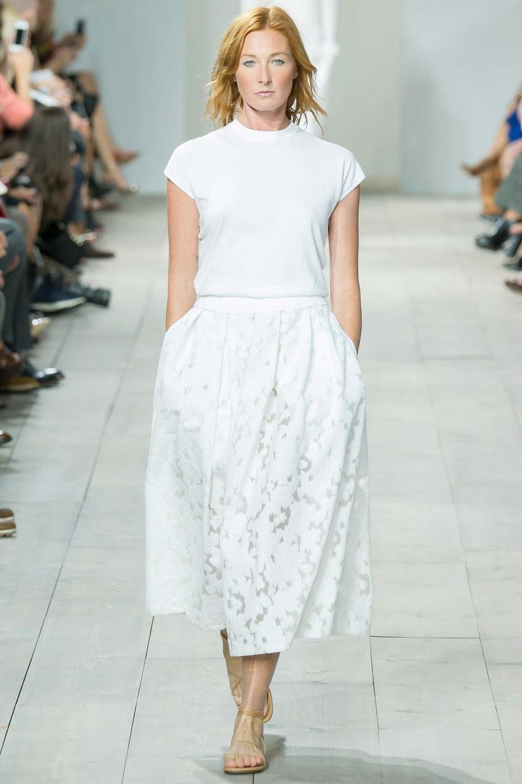 bílé šaty rtw 2015 kors