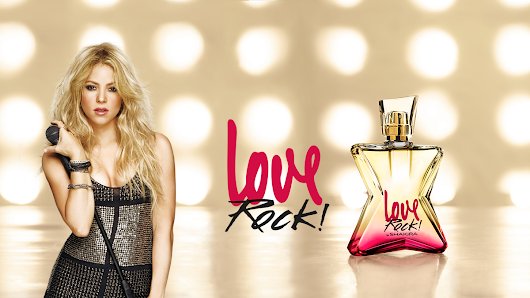 Shakira - myshakiblog: Wallpaper oficial Love Rock by Shakira