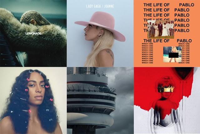 Los mejores álbumes del 2016, según la revista NME