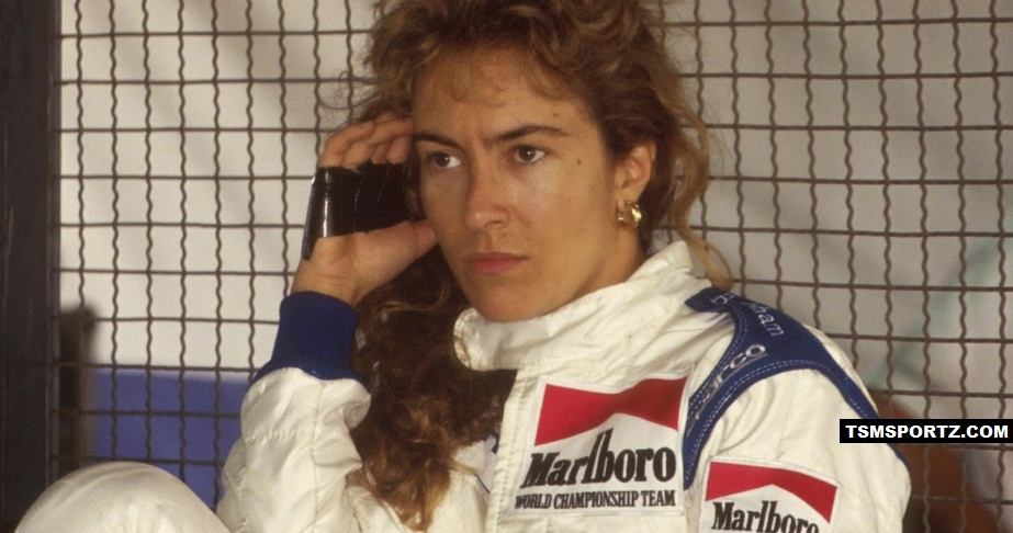 Giovanna Amati Best Italian Women F1 driver in 1992