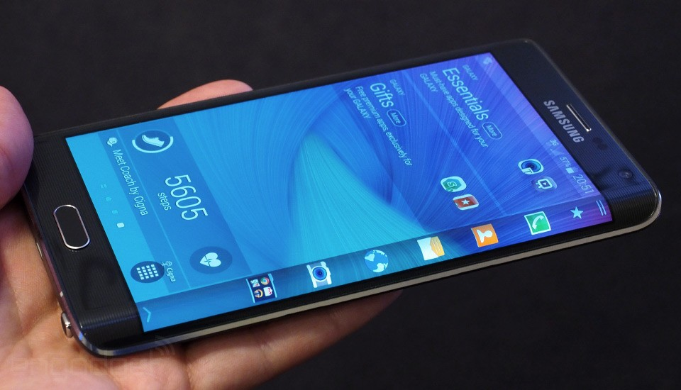 Samsung Galaxy Note Edge UnBoxing
