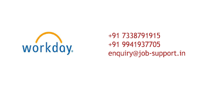 Workday Online Job Support
