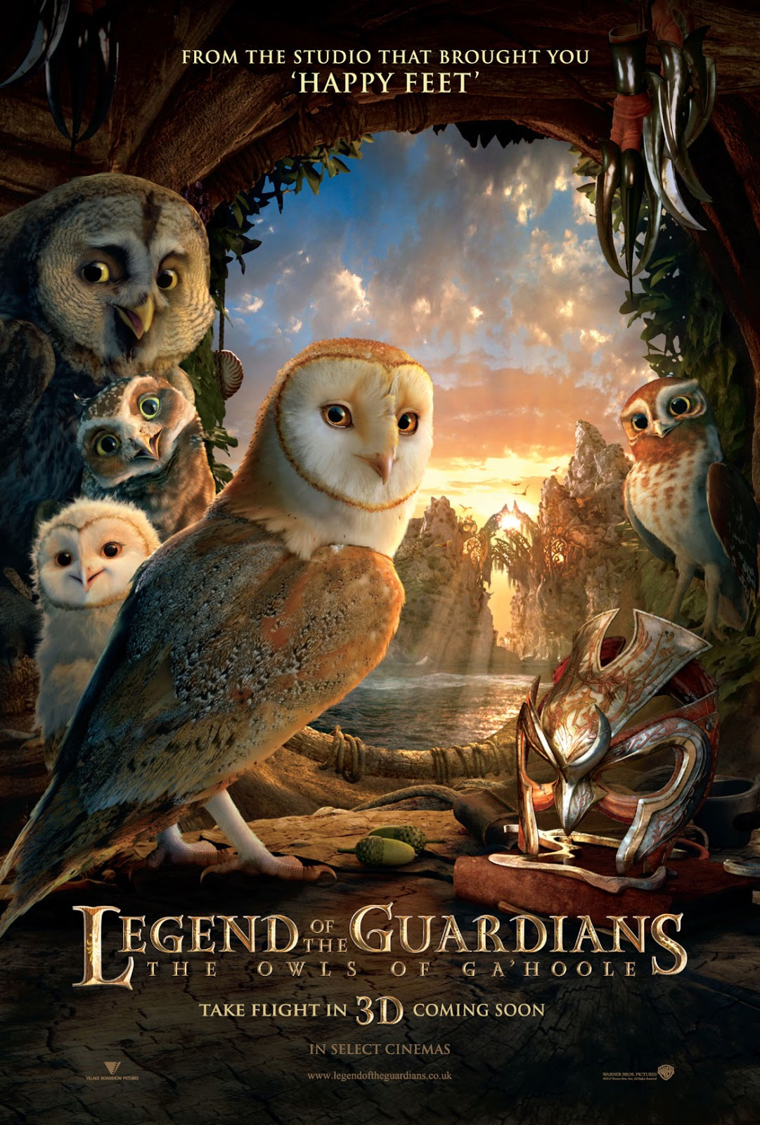 Watch Legend of the Guardians: The Owls of Ga'Hoole (2010) Online For Free Full Movie English Stream