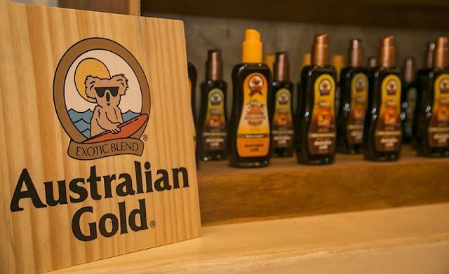 Compras de bronzeador Australian Gold em Miami