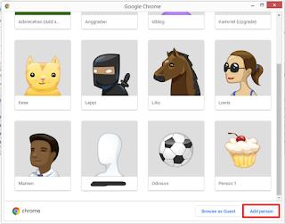 cara memperbanyak atau multi profile google chrome