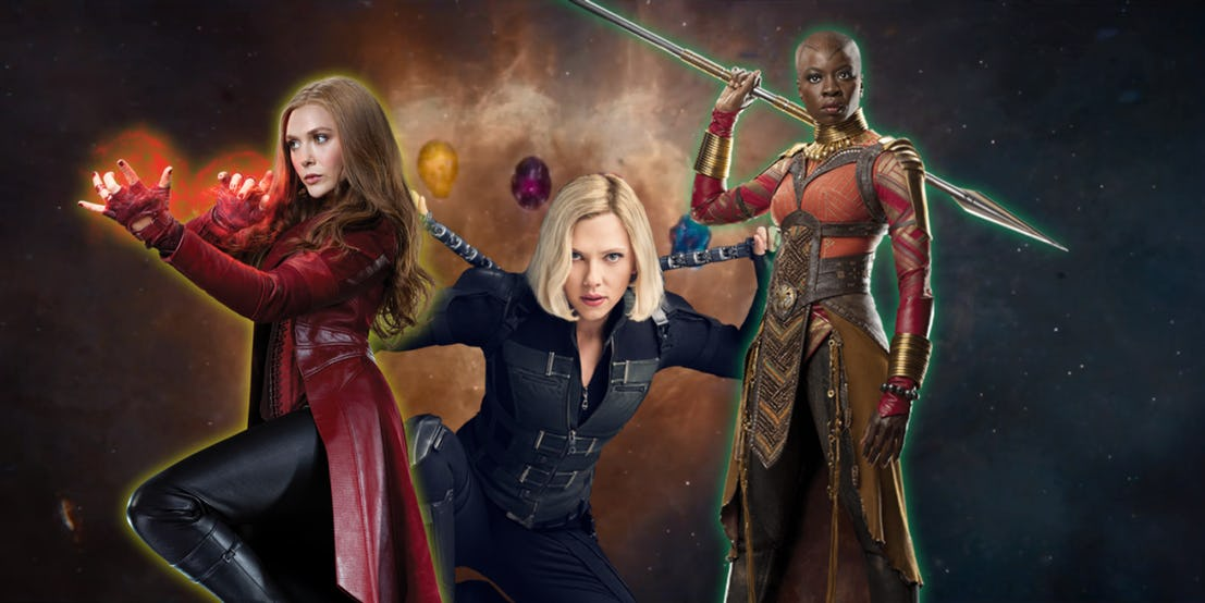 Back of the Head: Women of Avengers: Infinity War at Screen Rant