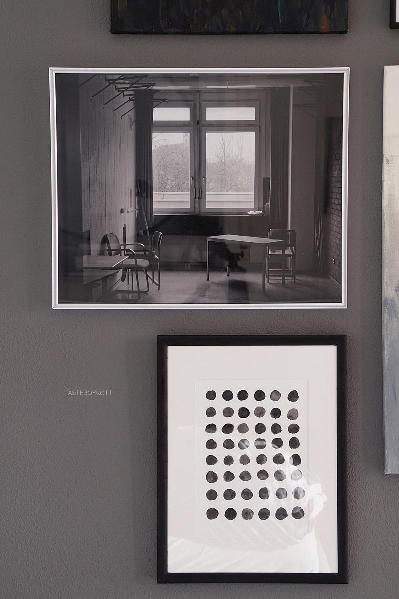 Kreative Ideen mit Fotopostern DIY: Schwarz-Weiß-Fotografie und Lieblingsgedicht gerahmt, Bilderwand arrangieren Tipps