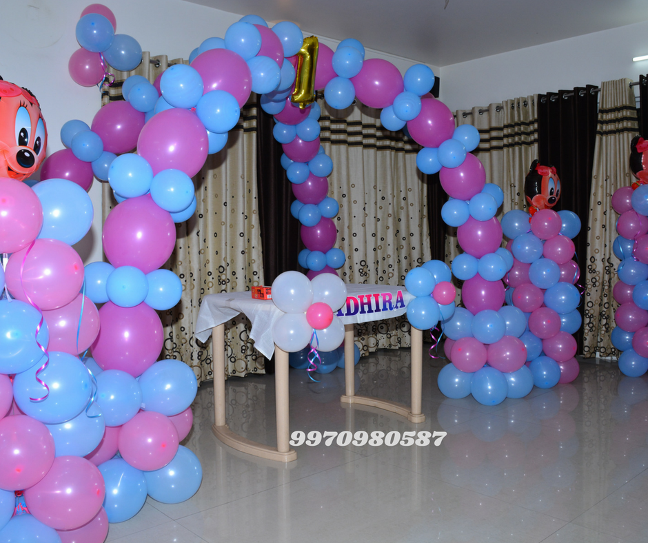 Balloon Decoration Near Me