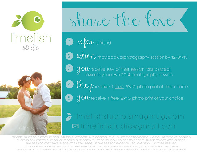 Limefish Studio: Refer-A-Friend Photography Program ...