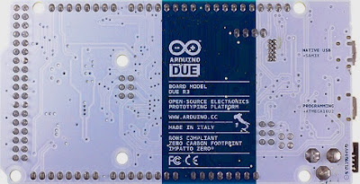 Arduino DUE Back ( ARM Based Arduino)