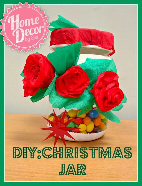 DIY: Christmas Gift/Cookie/Candy Jar!
