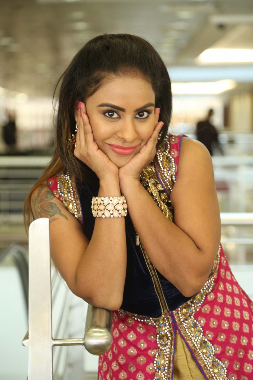 Srilekha reddy new glam photos-HQ-Photo-6