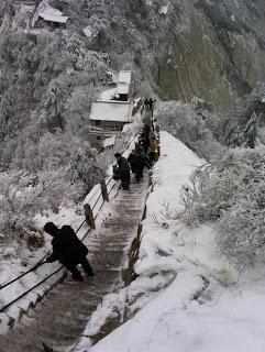 Huashan en invierno