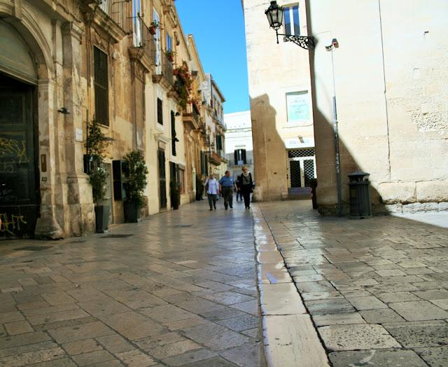 centro storico, chianche, vie