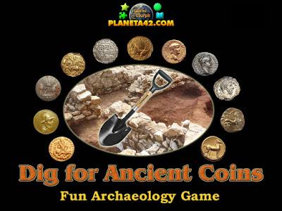 Разкопки за Древни Монети Онлайн Игра