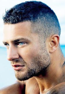 Model pangkas rambut pria caesar haircut