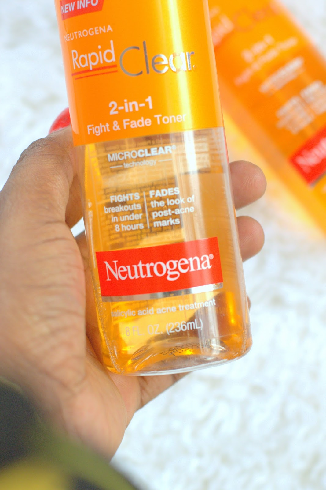 Diary Of A Fashion Enthusiast Neutrogena Rapid Clear 2 In 1 Fight